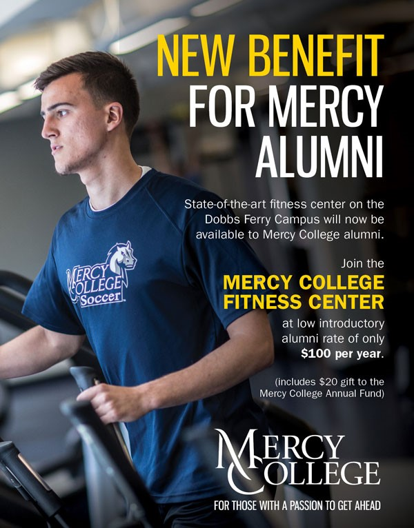 Student working out in Hudson Hall Fitness Center
